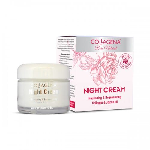 Night Cream Rose Oil